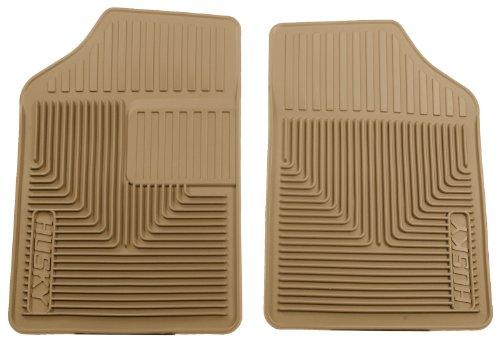 Husky Liners Custom Fit Heavy Duty Front Floor Mat (Tan)