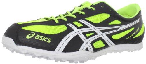 ASICS Men's Hyper XCS Cross-Country Shoe,Electric Lemon/Whit