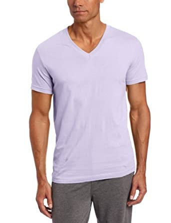 Bottoms Out Men's Knit Tee, Lavender, Medium