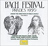 Bach Festival: Prades, 1950, Vol. 3