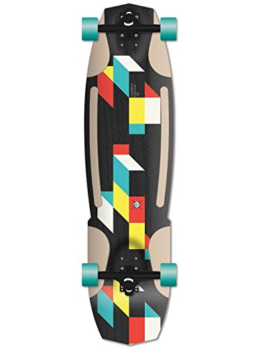 Flying Wheels, Skateboard completo Construct, Nero (Noir), 38""