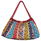 MOST SELLING ETHNIC MULTI COLORED SIDE BAG (A)