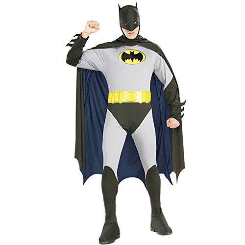 LifeshoppingMall Adult Batman 2nd Skin Zentai Super Suit Costume