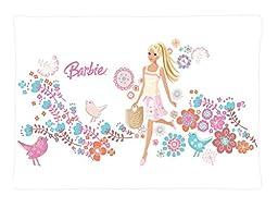 JingWEI Design Custom Rectangle Pillowcase Pillow Case Cover Barbie Cartoons Pattern Design Standard Size 20x30 inch