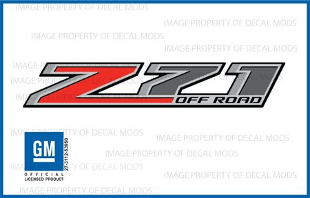 Chevy Silverado Z71 Offroad Truck Stickers Decals *New* - F (2014) Bedside (Set Of 2)