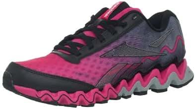 Reebok Women's Zig Ultra Running Shoe,Candy Pink/Black/Flat Grey/White,10 M US