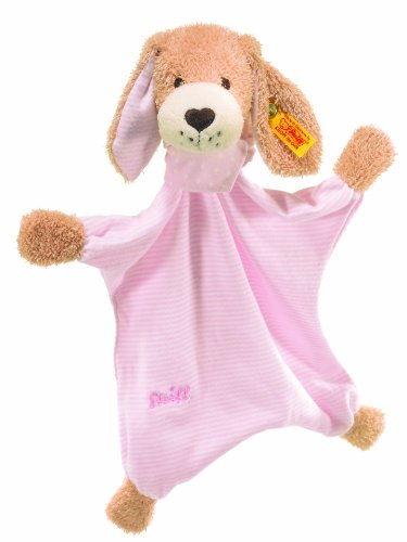 Steiff Good Night Dog Comforter Pale Pink