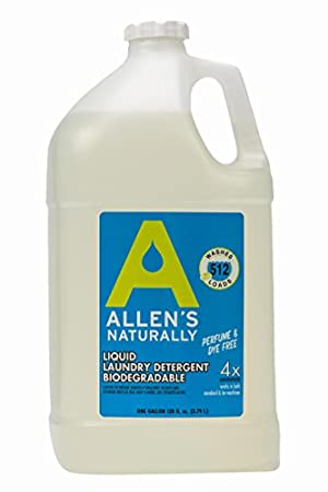 Allens Naturally Liquid Soap Laundry Detergent 1 Gallon/ 128 fl oz/ 3.78