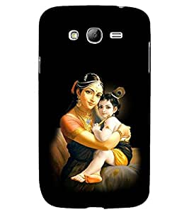 PRINTSHOPPII KANHA WITH MAA YASHODA Back Case Cover for Samsung Galaxy Grand i9080:::Samsung Galaxy Grand i9082