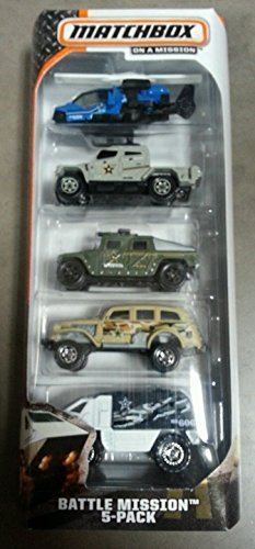 Matchbox BATTLE MISSION 5-Pack - 1