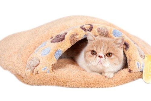 Wildforlife Luxury Fleece Cat Sleeping Bag/Bed (L)