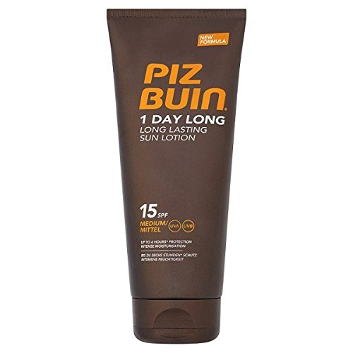 Piz Buin 1 Day Long, Long Lasting, SPF 15, Unisex, 200 ml