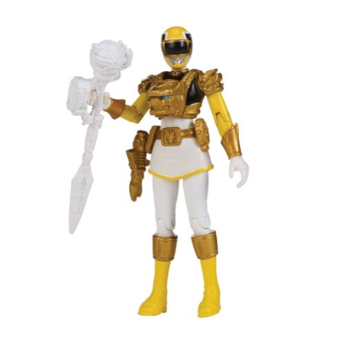 Power Rangers Samurai Action Figure Ultra Yellow Ranger, 4 Inch - 1