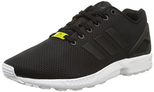 adidas Originals ZX Flux, Herren Sneakers, Schwarz (Core Black/Core Black/White), 44 EU (9.5 Herren UK) thumbnail