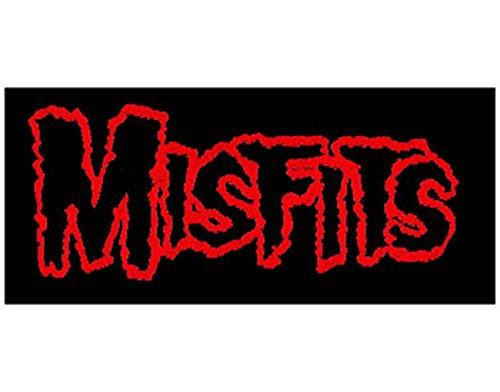 Misfits - Logo - Toppa/Patch - SPEDIZIONE GRATUITA