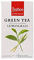Typhoo Green Tea, Lemon Grass, 25 Tea Bags