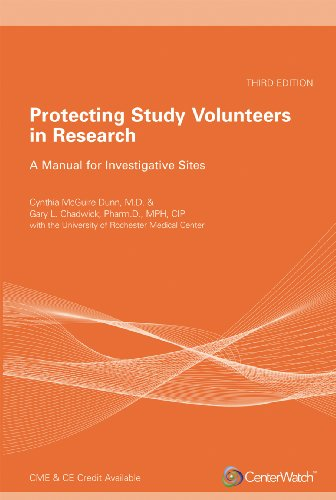 Protecting Study Volunteers in Research, Third Edition
