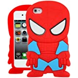 SILICONE SKIN CASE COVER FOR IPHONE 4/4G/4S COMIC MARVEL DC FUN - FUNNY SPIDERMAN SUPERHERO