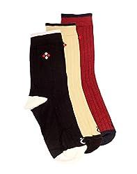 Lefjord Cotton Enriched Premium Men'S Socks Combo - Pack of 3