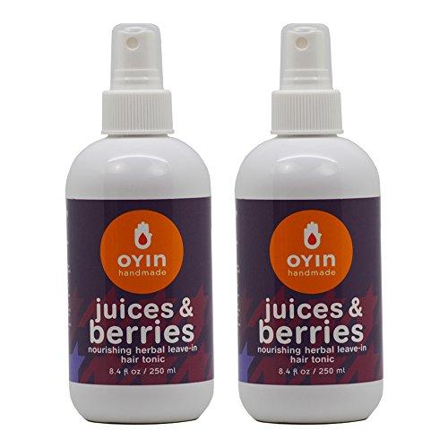 Oyin Handmade Juices & Berries Herbal Leave-In Hair Tonic 8.4oz