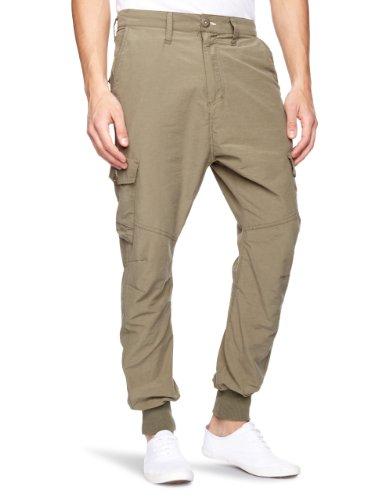 Bench Hondo Long Relaxed Men's Trousers Green W30 INxL34 IN