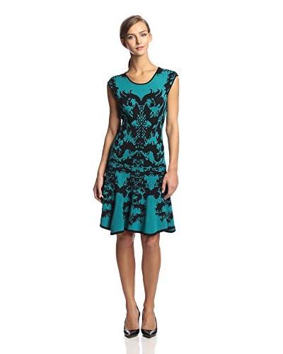 Julia Jordan Women's Sleeveless Dropped Waist Knit Dress