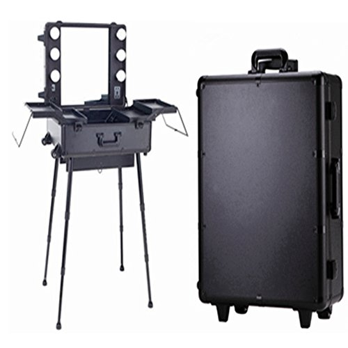 makeup-trolley-box-cosmetic-train-case-6-bulbs-lights-beauty-travel-case-black
