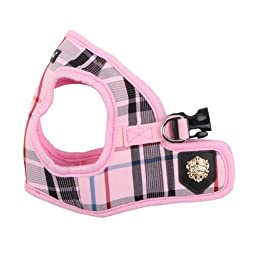 Puppia Authentic Junior Harness B, Large, Pink