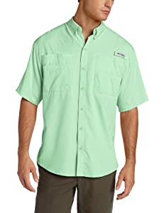 Columbia Men's Tamiami II Short Sleeve Shirt, Key West, Large