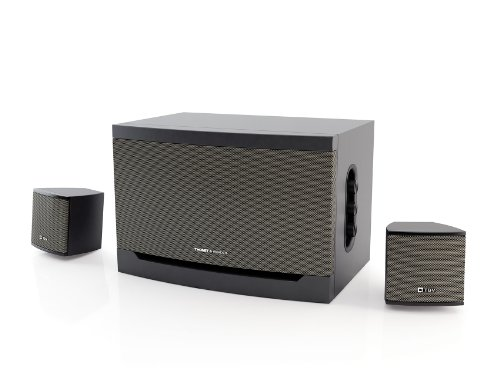 Thonet And Vander Riss - 2.1 Wooden Multimedia Speakers System (Grey) - German Engineering And Design