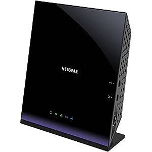 NETGEAR AC1600 WiFi VDSL/ADSL Modem Router - 802.11ac Dual Band Gigabit (D6400-100NAS)