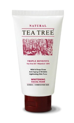 Tea Tree Mild & Deep Clean Whitening Facial Foam Anti Aging Wrinkle 140G Wholesale Price Made Of Thailand