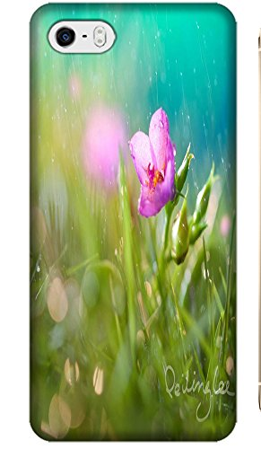 Fantastic Faye Apple Accessories Beautiful Flowers Leaves Grass Special Design Cell Phone Cases Covers For Iphone 5/5S No.6