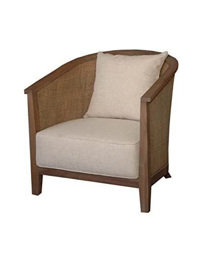 Jeffan Juliet Club Chair, Natural