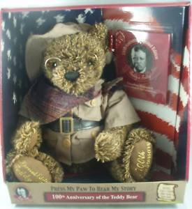 41TU1uq6B1L Cheap Buy  100th Anniversary Bear Limited Edition Teddys Teddy 1902 President Theodore Roosevelts Mississippi Hunting Trip. Brown Corderoy