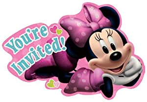 Minnie Invitations