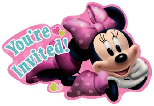 Review Minnie Invitations