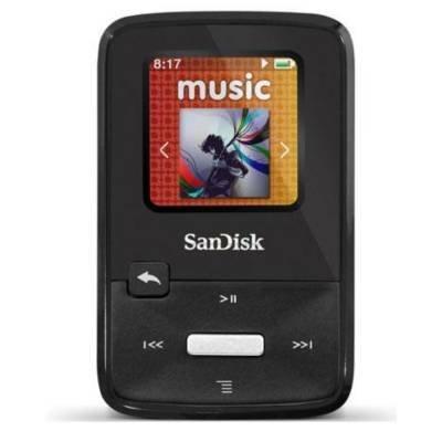 SanDisk Sansa Clip Zip 4GB MP3 Player SDMX22-004G-A57K