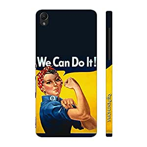 Enthopia Designer Hardshell Case WE CAN DO IT! Back Cover for Sony Xperia Z1