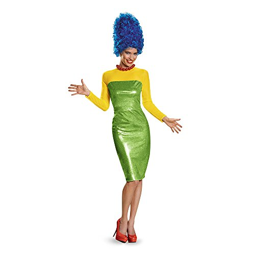 Disguise Women's Marge Deluxe Adult Costume