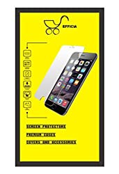 Efficia Micromax Canvas Blaze 4G Q400 Tempered Glass Screen Protector Branded Original Mobile Accessories Guard Premium 9H Hardness Anti Scratch Bubble Free