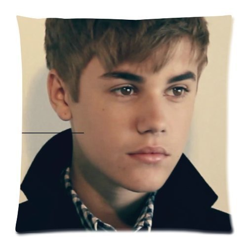 Butuku Justin Bieber Zippered Throw Pillow Cases Cover Cushion Case 18X18 (Two Sides) front-1059236