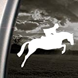 Jumping Horse Decal Hunter Jumper Fox Hunt Car Sticker