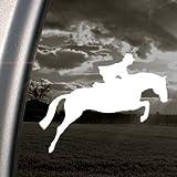 Jumping Horse Decal Hunter Jumper Fox Hunt Car Sticker