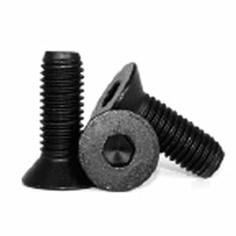 Metric M4 X 14mm Flat Head Socket Cap Screw; Black; Pack of 10