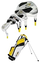 New Ray Cook Golf - Manta Ray 8-Piece Junior Set with Bag - Ages 9-12