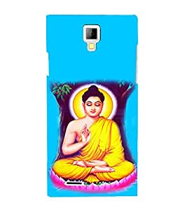 printtech Buddha Back Case Cover for Micromax A99 Canvas Xpress