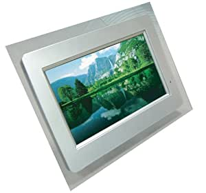 Cibox 9 inch LCD Digital Photo Frame With MP3 & MP4 - Includes Remote Control & 3 Interchangeable Facias