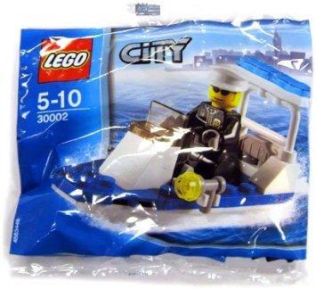 LEGO (レゴ) City Set Exclusive #30002 Police Boat Bagged ブロック おもちゃ (並行輸入)