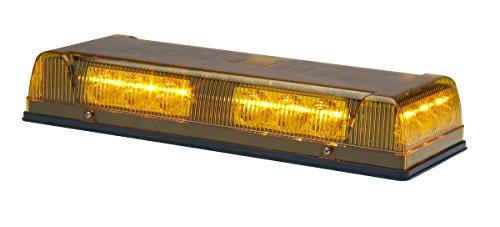 Whelen Engineering Responder Lp Mini Lightbar - 12 Volt, Permanent Mount, Amber, Model# R1Lppa